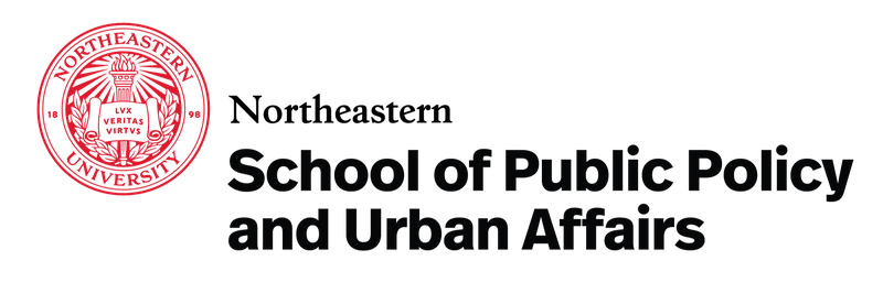 Northeastern School of Public Policy and Urban Affairs logo